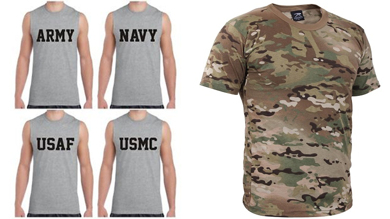 Best Army,Navy,Air Force T Shirts In Indian and Us Style